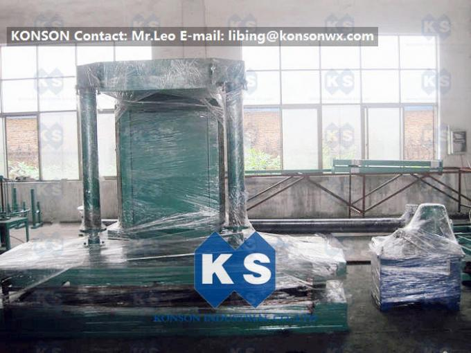 Professional Gabion Production Line Hydraulic Gabion Mesh Packing Press Machine 3mx1mx1m