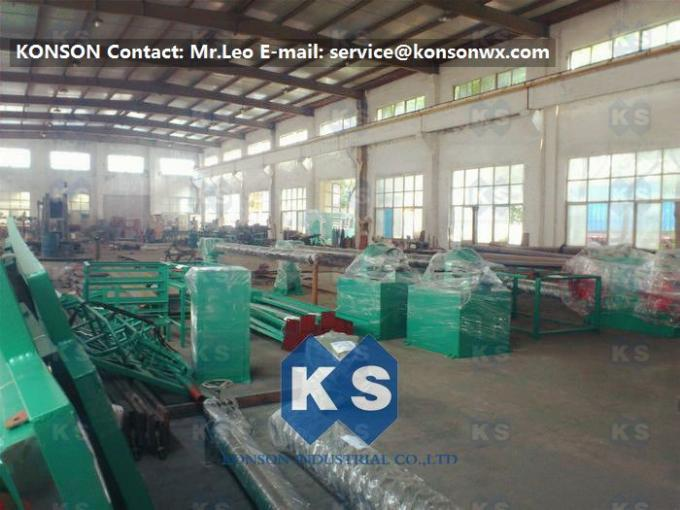 Hexagonal Gabion Production Line Double Rack Heavy Duty Hexagonal Mesh Machine