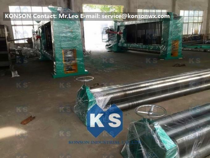 High Corrosion Hexagonal Wire Netting Machine For Making Stone Cage 2x1x1m