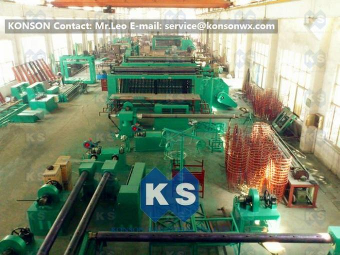 Double Rack Drive Hexagonal Mesh Machine 4300mm With High Frequency Motor