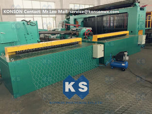 China 5kw Automatic Wrapped Edge Gabion Machine Edge Wrapping Machine 4 Meter supplier