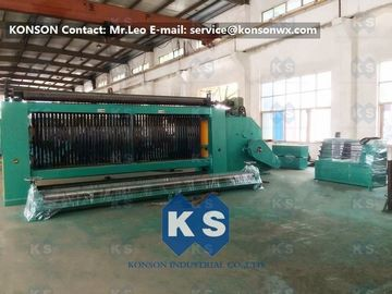 China Double Twist Wire Mesh Making Machine , Hexagonal Wire Netting Gabion Production Line supplier