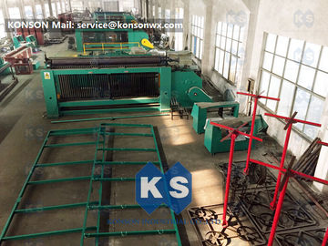 China Custom Gabion Mesh Machine Wire Netting Machine For 4m X 1m X 1m Box Packing Press supplier