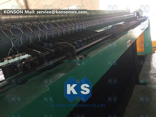 China Easy Operation Gabion Making Machine High Speed Netting Sheet Cutting 7.5kw 4300mm supplier