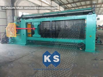 China Heavy Duty Gabion Mesh Machine Net Weaving Machine 80x100mm Netting Width 4300mm supplier