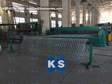 China High Efficiency Gabion Box Machine With PLC Automatic Control Five Twist supplier