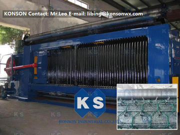 China Customized Automatic Gabion Mesh Machine Hexagonal Wire Gabion Netting Production Line supplier