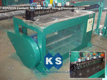 China Wrapped Edge Machine Gabion Box Production Line Selvedge Wire Mesh Machinery supplier