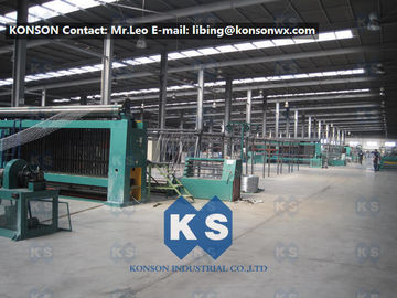 China Heavily Galvanized Galfan And PVC Coated Hexagonal Wire Mesh Making Machine supplier