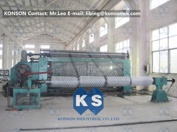 China Automatic Hexagonal Wire Netting Weaving Machine / Gabion Mesh Production Line supplier