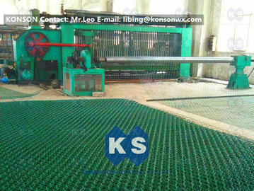 China High Corrosion Hexagonal Wire Netting Machine For Making Stone Cage 2x1x1m supplier