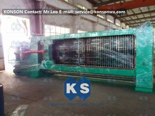 Double Twist Gabion Mesh Machine With Overload Protect Clutch And Hydraulic System