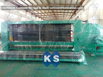 China Automatic 4300mm Reno Gabion Mattress Machine With CE Certification supplier
