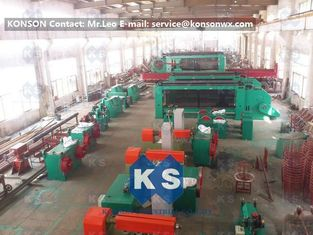 China Automatic Gabion Production Line Designed To Make Gabion Mesh Size 60x80mm supplier