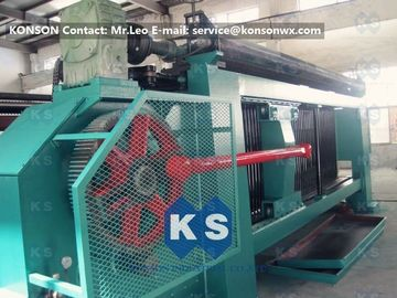 China Industrial Gabion Production Line Twist Mesh Welded Machine 80 X 100mm Width 4300mm supplier