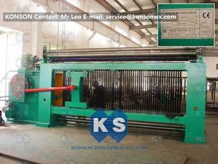 China Double Rack Drive Hexagonal Mesh Machine 4300mm With High Frequency Motor supplier