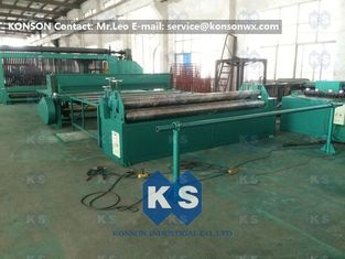 China Professional Hexagonal Wire Mesh Machine Netting Straigntening And Cutting Machine supplier