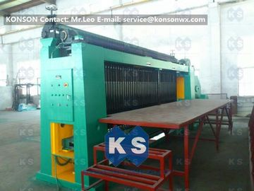 China Custom Double Rack Drive Hexagonal Wire Netting Machine For Water Conservancy supplier