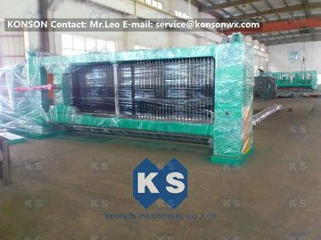 China Hexagonal Wire Netting Weaving Machine Gabion Production Line With Overload Protect Clutch supplier
