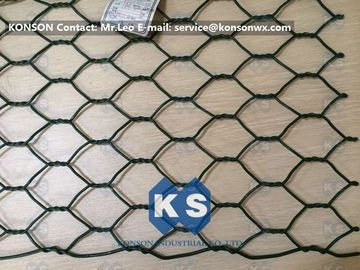 China Professional PVC Gabions Wire Mesh Box and Basket for Chicken Hexagonal Wire Netting supplier