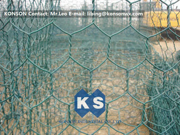 China High Corrosion Resistant Galvanized and PVC Coated Welded Gabions for Mesh Fencing supplier