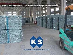 China Stainless Steel Stone Gabion Box 2x1x1 with Heavily Zinc Galvanised Wire supplier