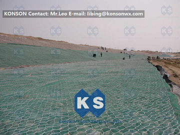 China Orrosion Resistant Galvanised Gabion Mesh River Gabion Mattress 100 x 120mm Mesh Size supplier