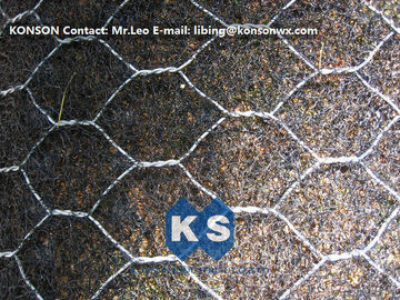 China Woven Wire Gabion Mesh Fence Galvanized Protecting Gabion Fence Net supplier