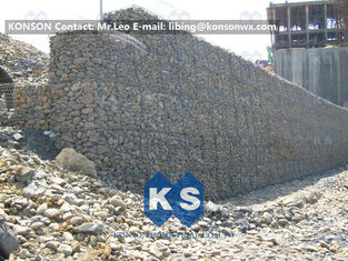 China Galvanized Wire Gabion Mesh Errosion Control Reno Gabion Mattress 120 x 150mm supplier