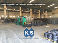 China 22kw 80 X 100mm Hexagonal  Wire Netting Machine With PLC Control System company