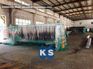 China Producing Rate 3.5 M / Min Gabion Making Machine Auto Straightening Cutting System factory
