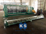 China Turbine Protection System Wire Mesh Machine Galvanized / PVC Coated Wire 4300mm Width factory