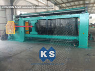 China Heavy Duty Gabion Mesh Machine Net Weaving Machine 80x100mm Netting Width 4300mm factory