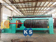 Smooth Running Gabion Box Machine Turbine Protection System Producing Rate >3.8 M / Min