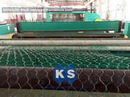 Automatic Double Twist Hexagonal Wire Mesh Machine PLC Control System
