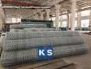 Galvanized Wire Netting Gabion Mesh Machine For Chemical Engineering Industry