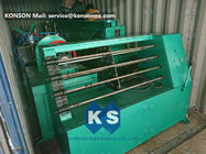 Galvanized Hexagonal Gabion Wire Netting Machine With Automatic Oil System