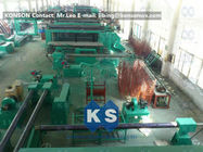 China Hexagonal Gabion Production Line Automatic Gabions Mesh Machine With PLC System factory