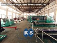 China Large Mesh Gabion Box Machine For Straight And Reverse Twisted Wire Mesh Machinery factory