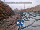 China Galvanized Gabion Basket Woven Hexagonal Wire Mesh PVC Coated Welded Gabions company