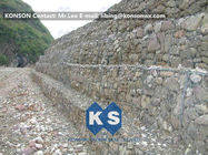China Strong Welded Gabion Retaining Wall Stone Gabion Box For Roadway Protection factory