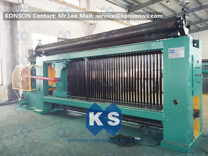 CE Hexagonal Wire Netting Machine For Hexagonal Gabion Box Making ...
