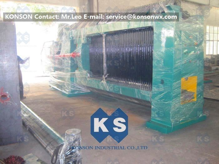 Wire 2.7mm Gabion Mesh Machine Straight and Reverse Twisted Wire ...