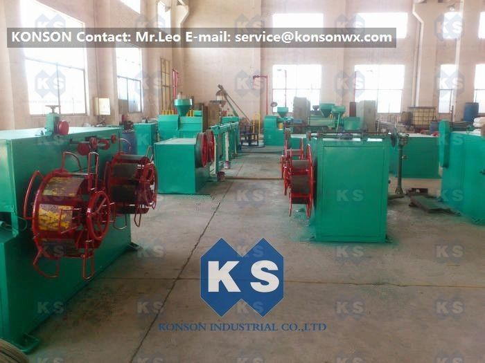 Powder PVC Coating Machine for Making PVC Coated Wire Gabion Baskets ...