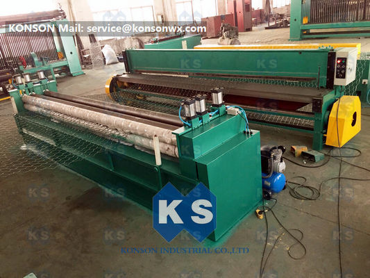Heavy Duty 2x1x1M 4.0mm Wire Hexagonal Gabion Box Machine