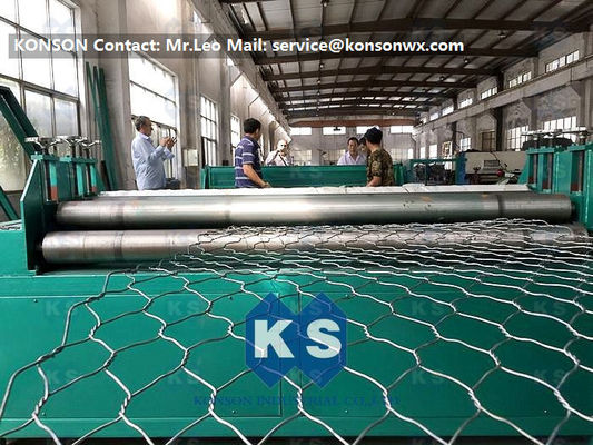180m/H Wire Dia3200mm Gabion Mesh Machine