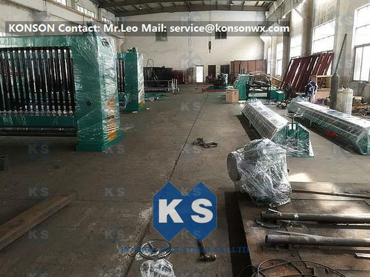 3.5mm 4000mm Width Hexagonal Wire Mesh Machine