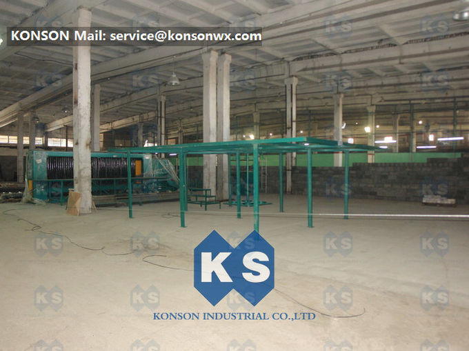 4300mm Max Width Gabion Machine Turbine Protection System For Petroleum Construction